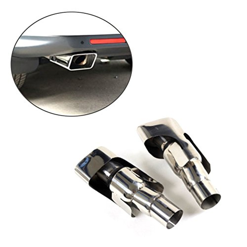 JCSPORTLINE Stainless Steel Exhaust Tips for Land Rover Range Rover Sport 2010 2011 2012 Faceliftl Gasoline Petro (Range Rover Valance compare prices)