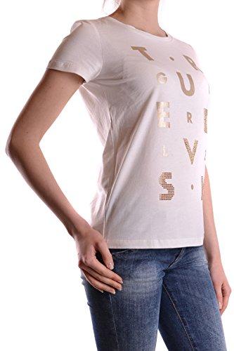 Liu Jo Damen MCBI191266O Weiss Baumwolle T-Shirt ...