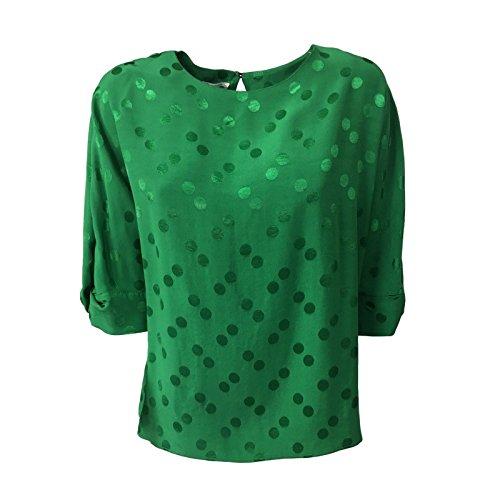 Italy Manica Camicia In Biancoghiaccio 4 Verde Croazia 3 Donna Mod Made SvxPqxZ
