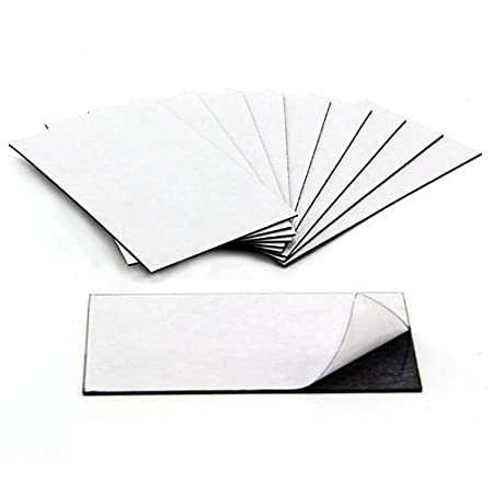 Party decor magnet business card size with sticky side adhesive party decor magnet business card size with sticky side adhesive front and magnetic back reheart Image collections