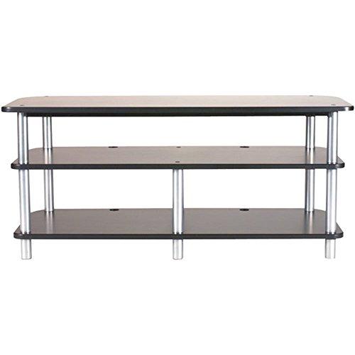 Sanus 3 Shelf Tv Stand (SANUS AFV48B Accurate Furniture Series 3-Shelf A/V Stand - FIVE YEARS)