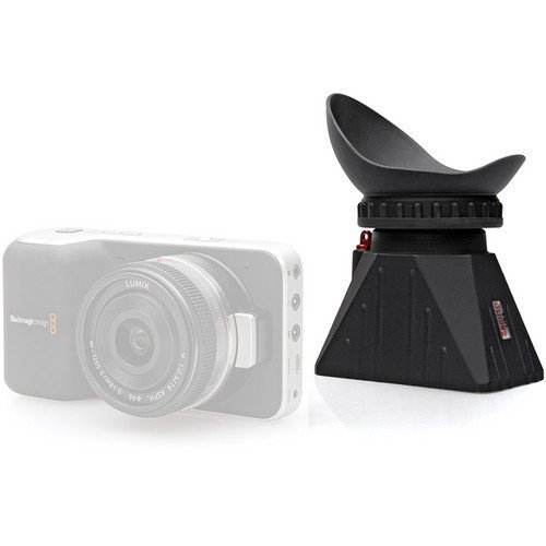 Zacuto C100 Z-Finder Pro Optical Viewfinder for Canon C100 LCD, 40 mm Lens Diameter, 1.8x Magnification