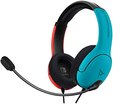 PDP LVL40 Wired Headset NS Azul/Rojo