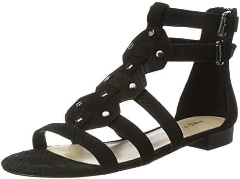 Nine West Women's Irvette Suede Gladiator Sandal