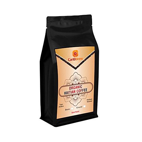 Organic Haitian Coffee - Fresh Dark Roast - Fairtrade