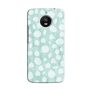 Cover It Up - Pebble Print Blue Moto E4 Plus Hard Case