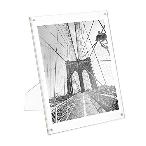 Photo Jacobs - Isaac Jacobs International Plain Acrylic Magnetic Frame (8x10)