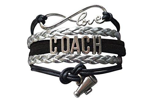 Infinity Collection Cheer Coach Bracelet- Coach Cheerleading Bracelet- Cheer Jewelry For - Coach Cheer Megaphone