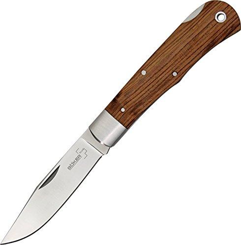Boker Plus 01BO185 Bubinga Knife with 3 5/8 in. 440C Stainless Steel Blade