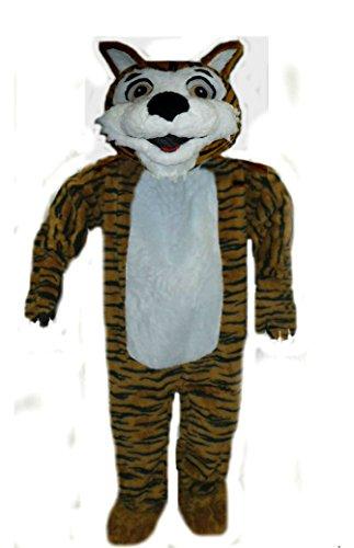 Mascots USA by CJs Huggables Custom Pro Low Cost Cutie Tiger Mascot Costume - Tiger Mascot Costume Cheap