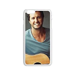 ZXCV Approachable guitar prince Luke Bryan Cell Phone Case for Iphone 6