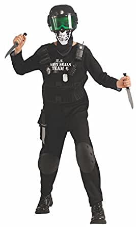 Value Black Seal Team 6 Costume with Accessories, Medium