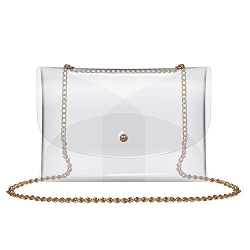 Very stylish clear purse
