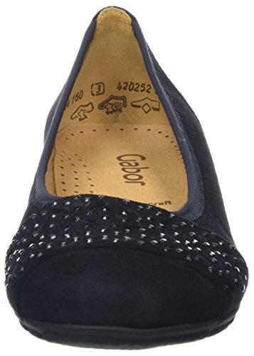 16 Fashion Ballerine Pazifik Shoes Gabor Blu Donna z0qwYxHB