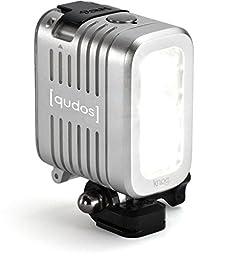 Knog [qudos] ACTION Video Light for GoPro, Silver