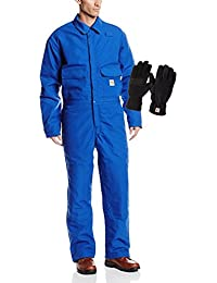 Carhartt Men's Flame Resistant Duck Coveralls With Gloves