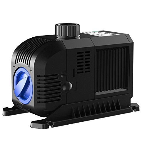 SONGJOY 1321 GPH Hydroponics Submersible water Pump 80W for Indoor Outdoor Fountain Pond Aquarium Fish Tank With 8.2ft Power Cord by SONGJOY