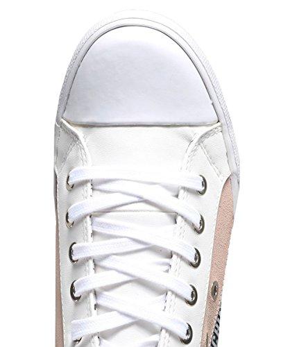 Multicolore Moschino Love Multicolore Sneaker Logo Pump Donna qYffwSUA