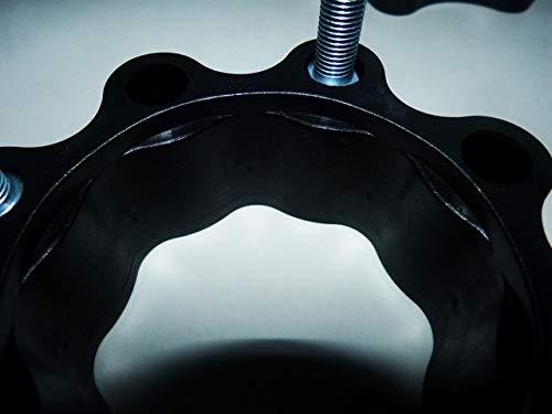 115 mm Lochkreis hinten und vorne schwarz Spurverbreiterungen Quad ATV 110 mm