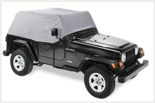 Best of Pavement Ends by Bestop 41730-09 Charcoal Canopy Cover for 07-13 Wrangler JK 2-door