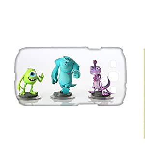 Generic Hard Back Phone Cover For Boy Printing Monsters University For Samsung Galaxy S3 Full Body Choose Design 1-7