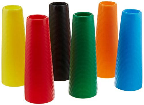 Sammons Preston Plastic Large Stack Cones, Medical Rehabiliation and Activity Exercise for Recovery, Funtional Hand Therapy for Upper Extremity, Hand-Eye Coordination, Set of 30
