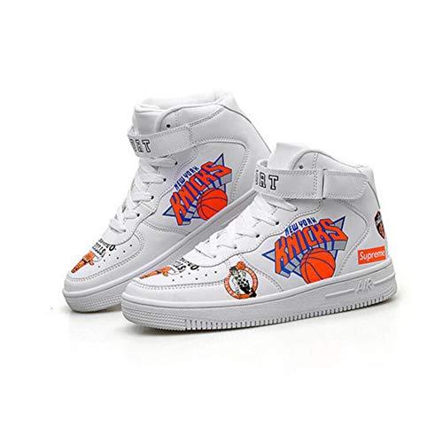 Sport Fh hop Chaussures New Montantes White Décontractées uk6 couleur De Coréennes Size Hip Femme 5 cn40 Eu39 FgwTgYqr