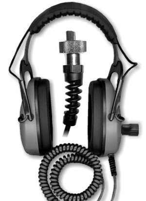 DetectorPro Gray Ghost Amphibian for Garrett AT Pro/Gold and Infinium Metal Detector Headphones by Gray Ghost