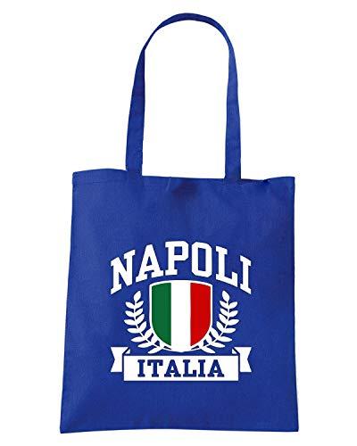 Borsa Shopper Royal Blu TSTEM0274 NAPOLI ITALIA