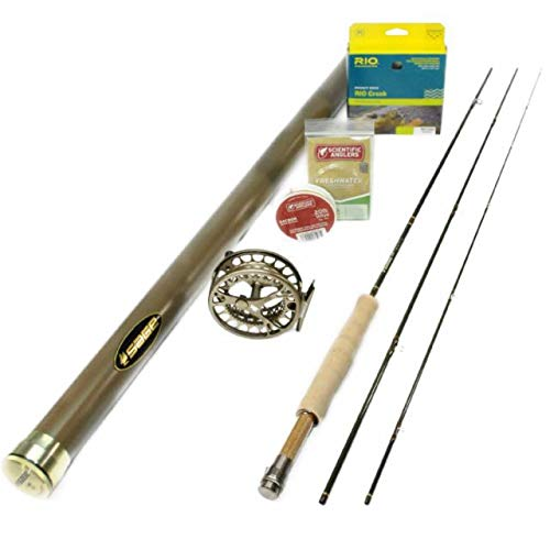 Sage Dart 376-3 Fly Rod Outfit : 3wt 7'6