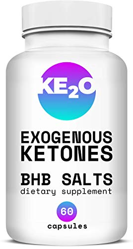 BHB Salts Exogenous Ketones - Best Weight Loss Pills with Beta-Hydroxybutyrate Salts - Advanced Keto Diet Supplements - Stomach Visceral Fat Burner for Men and Women, 60 Capsules