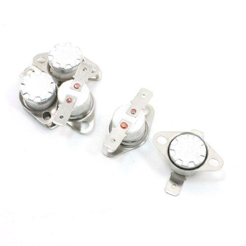 5 Pcs 180 Celsius 250VAC 10A NC Ceramic Thermostat KSD301