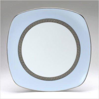 Noritake Piedmont Platinum Square Luncheon Plate (Platinum Square Luncheon Plate)