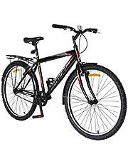 دراجة سبارتان كوميوتر ام تي بي، لون اسود، 66 سم