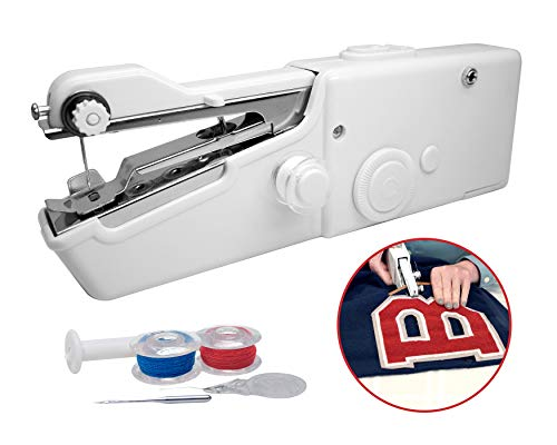 Review Magic Stitch Cordless, Portable, Handheld Sewing Machine, Cordless Electric Stitch Tool, Hous...