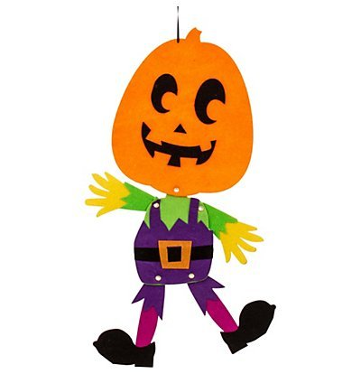 - Amscan Halloween Jointed Felt Hanging Decoration, 18