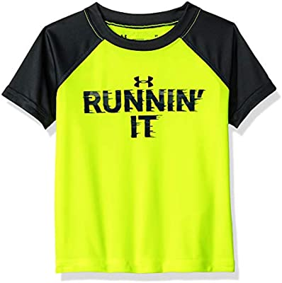 6e30d4186f85 Under Armour Boys' Little Attitude Ss Tee Shirt, Hi Gh/Vis Yello, 4 ...