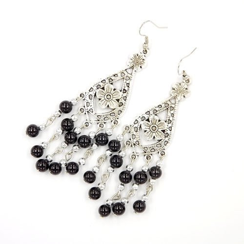 1set New Chic Fashion Womens Jewelry Ethnic Style Type Ear Stud Earrings ()