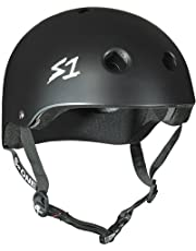 "S-ONE Lifer CPSC - Multi-Impact Helmet - Black Matte X-Large (22.5"")"