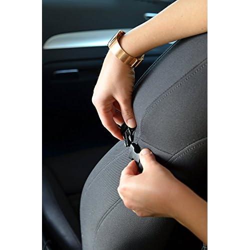 Organiseur Pour Voiture Idèal Comme Protection Siège Arrière De Auto | Organisateur Avec Poche Pour Tablette | Ensemble De 2 – de GLOBEPROOF®
