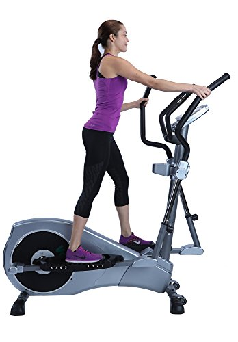 "V-450 Standard Stride 17"" Elliptical Exercise Cross Trainer Machine with Adjustable Arms and Pedals and HRC Control Program for Cardio Fitness Strength Conditioning Workout at Home or ()"