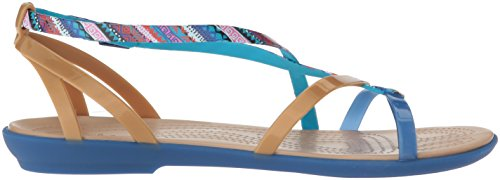 Pictures of Crocs Women's Isabella Gladiator Graphic Sandal 205146 3