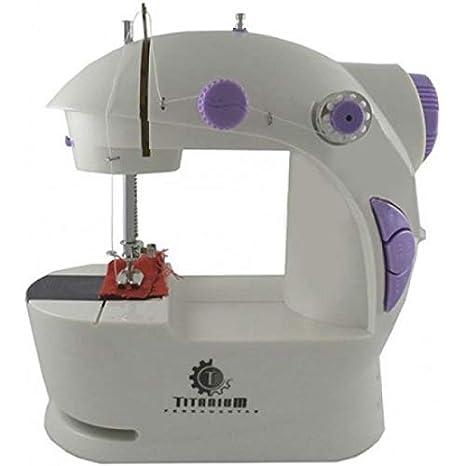 43a1bf5ff Mini Máquina De Costura Doméstica Portátil Sewing Jiaxi - 201 ...