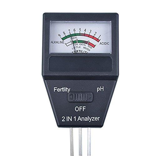 1 Component Soil (2-in-1 Soil PH Meter & Fertility Tester)