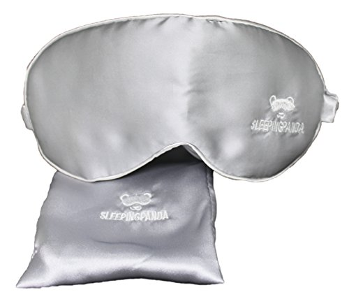 Sleeping Mask For Men And Woman That Blocks All Lights  Perfect For Dark Circles  Insomnia  Puffy Eyes  And Migraine  Get Your Best Resting Sleep Now  Best Sleep Mask   Sleeping Mask  Silver