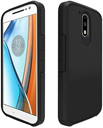 Orzly® Duo-Armour Case para Moto G4 / G4 Plus Smartphone (2016 Lenovo Version de Motorola Modelo Teléfono Móvil): Amazon.es: Electrónica
