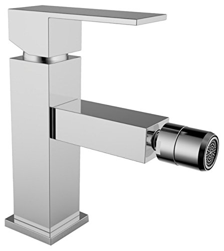 Albe makrat Bidet Mixer Square Tap, Chrome by Albe