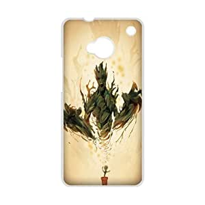 Crazy I Am Groot Cool Custom Design HTC ONE M7 Hard Case Cover phone Cases Covers