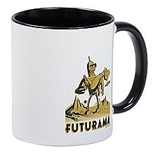 CafePress - Futurama Bender And Fry Mug - Unique Coffee Mug, Coffee Cup