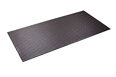 Supermats Heavy Duty P.V.C. Mat for Cardio- Fitness Products (2.5-Feet x 5-Feet) by Supermats